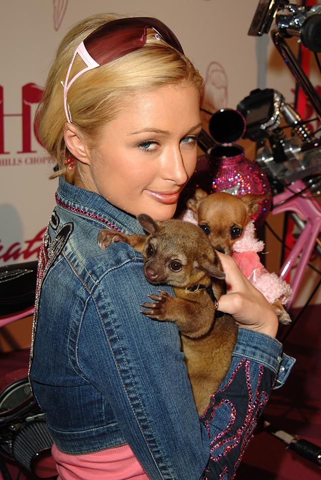 "Beverly Hills Choppers Presents ""The Paris Bike"" to Paris Hilton"