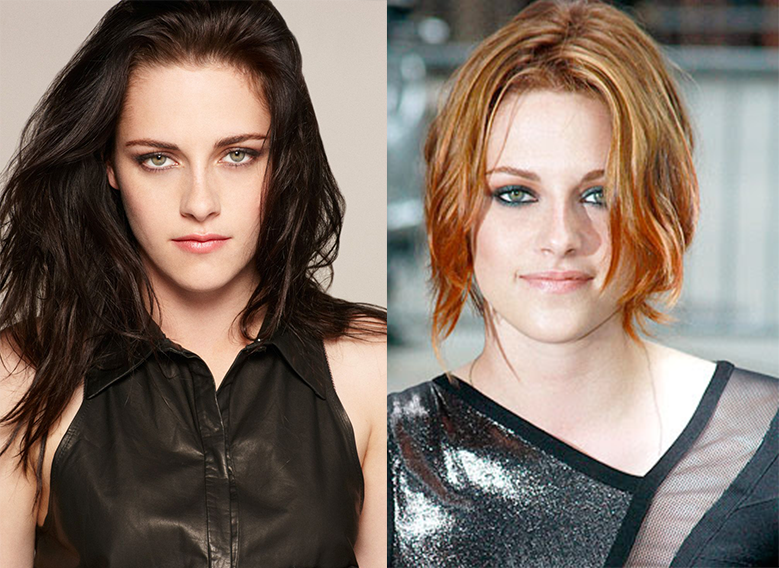 10 Celebrities Who Look Way Better With Their Hair Colored Madten
